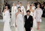 Fashion for the few casts its spell in Paris