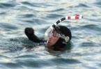 Limbless French swimmer set to cross five continents