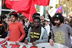 Spain's 'youth without a future' take to the streets