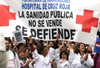 Doctors and patients rage at Madrid hospital cuts