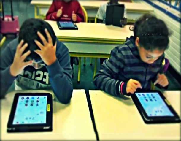 Banlieue kids are avant-garde for classroom use of tablets