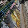De Wand tram stop in Laken gets unusual make-over