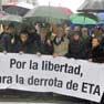 Spaniards protest against ETA violence