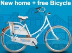 Free giveaway: Rent a home, get a free bicycle!