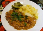 Russian recipe: Around the world with beef stroganoff