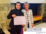 Expat wins Business Game and scholarship for Master in Management at Nyenrode